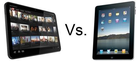Motorola Xoom và Apple iPad.