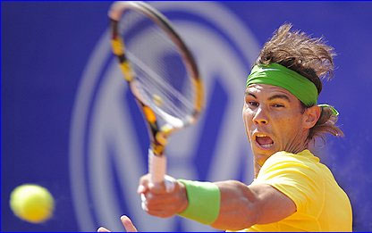 Nadal bất bại trên mặt sân đất nện kể từ năm 2009.