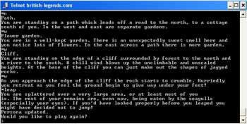 Giao diện game online đa người chơi sơ khai.