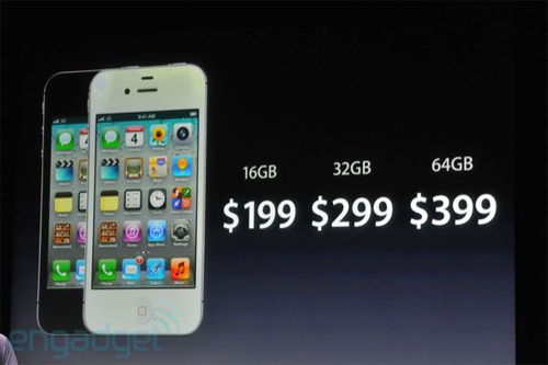 iPhone 4S chính thức trình làng