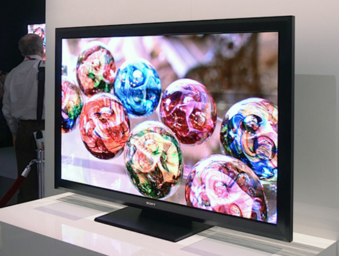 Sony Crystal LED TV.