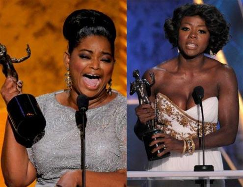 Hai nữ diễn viên.