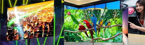 TV OLED của Samsung và LG có độ mỏng đáng kinh ngạc, màu sắc rực rỡ và không tốn điện.