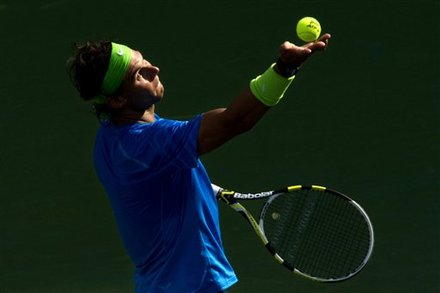Nadal đang cố trở lại vị trí số một thế giới.